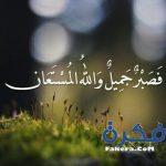 صور فصبر جميل والله المستعان