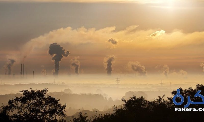 موضوع تعبير عن التلوث