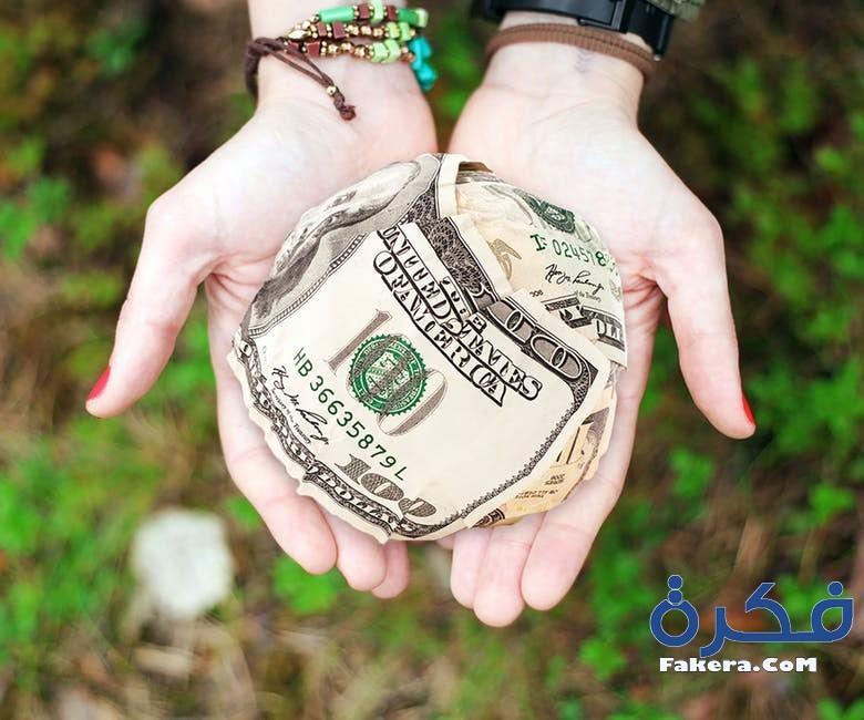 الأموال في المنام