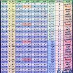 صور امساكية شهر رمضان 1439-2018 pdf موعد اذان الفجرالمغرب