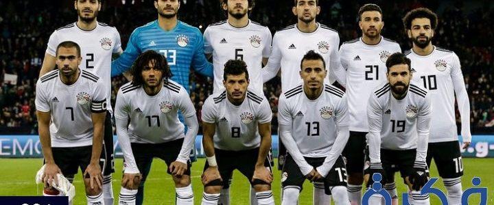 صور منتخب مصر 2018