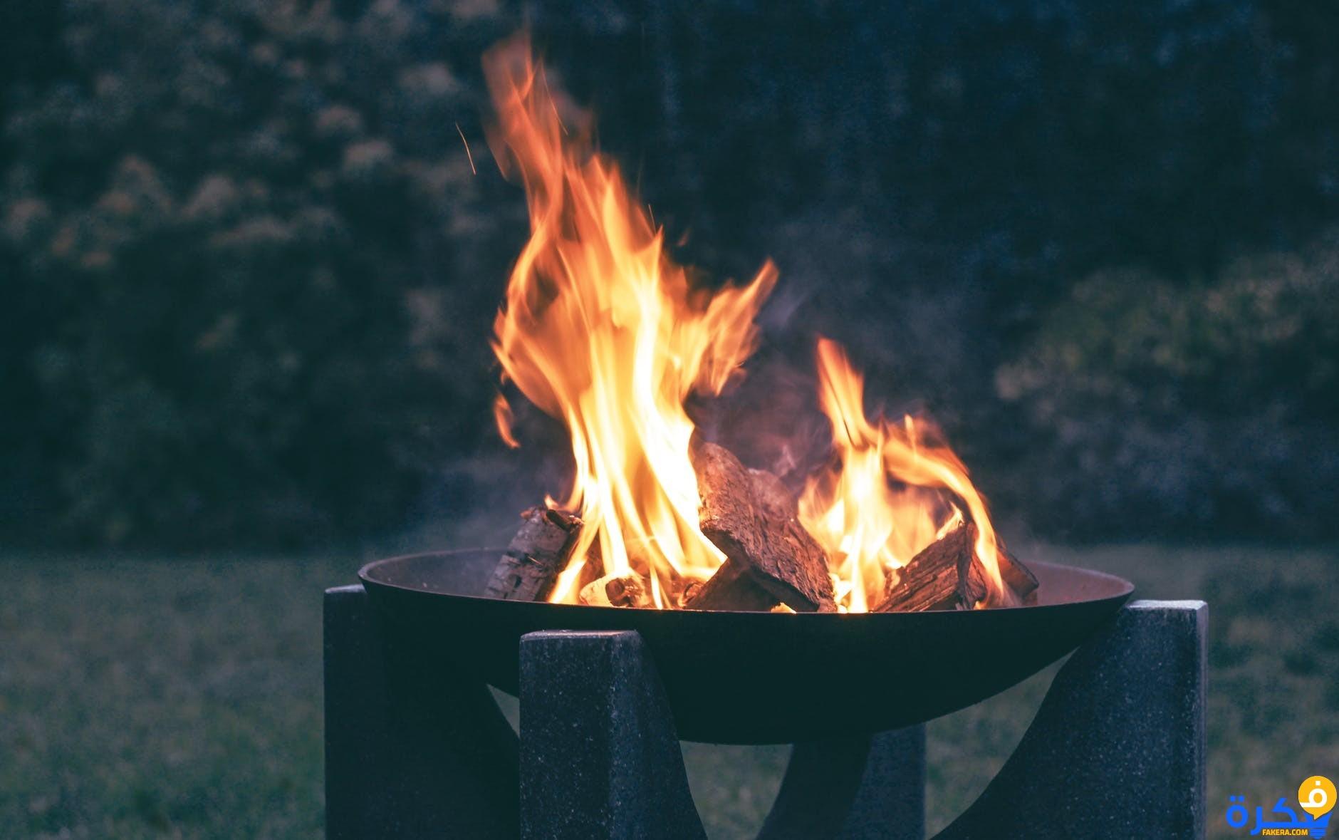 النار في المنام