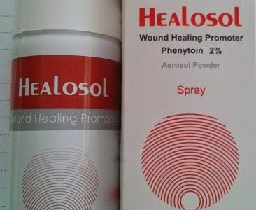 بخاخ هيلوسول سبراي Healosol مضاد حيوي للجروح
