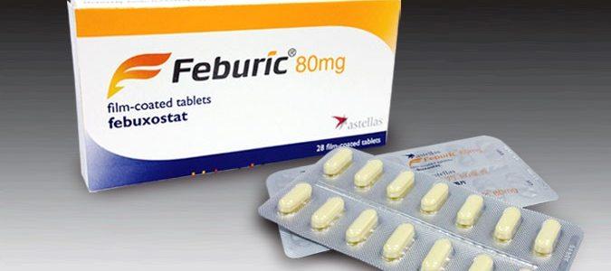 نشرة أقراص فبيوريك Feburic لعلاج النقرس