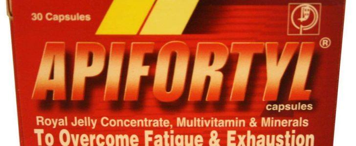 نشرة فيتامينات ابيفورتيل Apifortyl للقضاء علي الارهاق