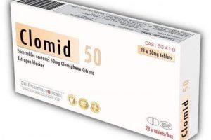 نشرة اقراص كلوميد clomid لتنشيط التبويض
