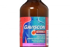 نشرة جافيسكون ادفانس Gaviscon Advance للحموضة وحرقان المعدة
