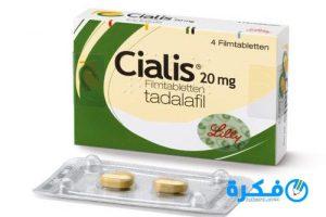 نشرة أقراص سياليس Cialis لعلاج الإكتئاب