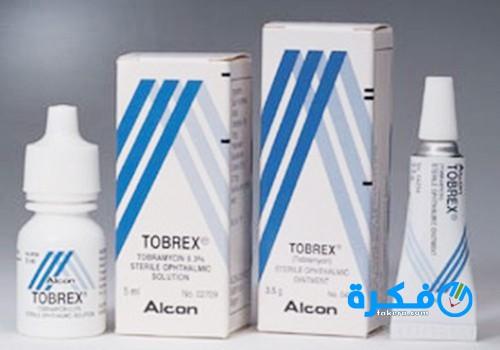 قطرة توبريكس Tobrex لعلاج التهابات العينين