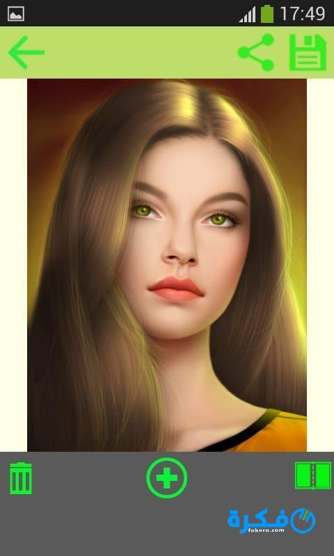 تطبيق Woman Hair Style Photo Montage 2020