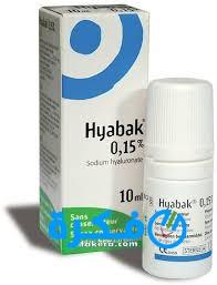 قطرة هايبك Hayabak لعلاج جفاف العين