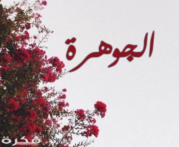 معنى اسم جواهر Goahr في اللغة