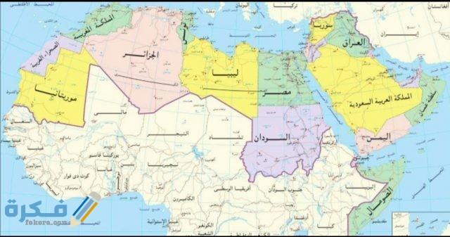 صور خريطة الوطن العربي موقع فكرة
