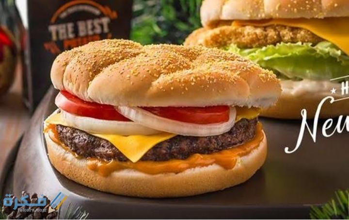 اسم أفضل ساندوتش في بافلو برجر