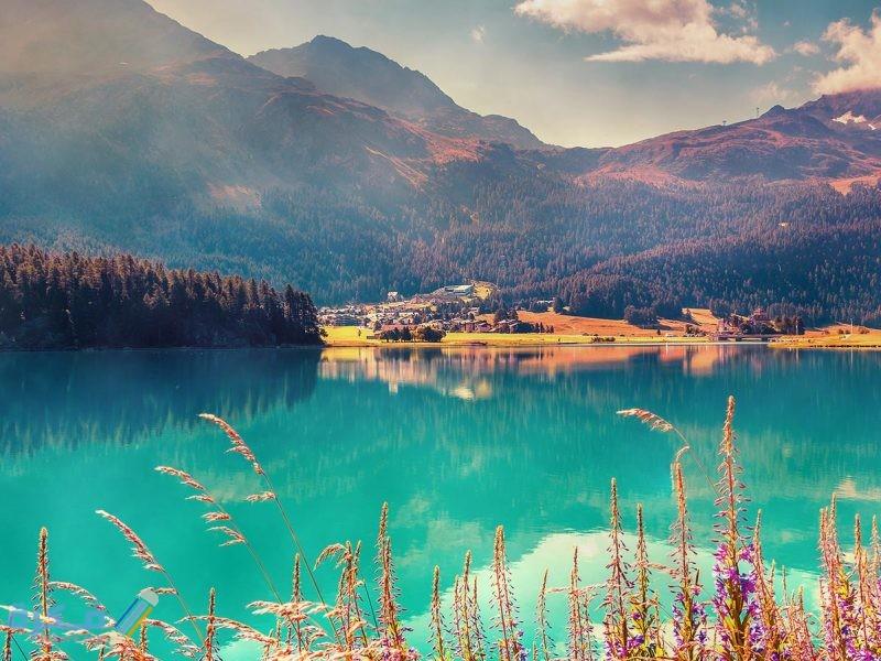 ابراز المعالم السياحية في سويسرا