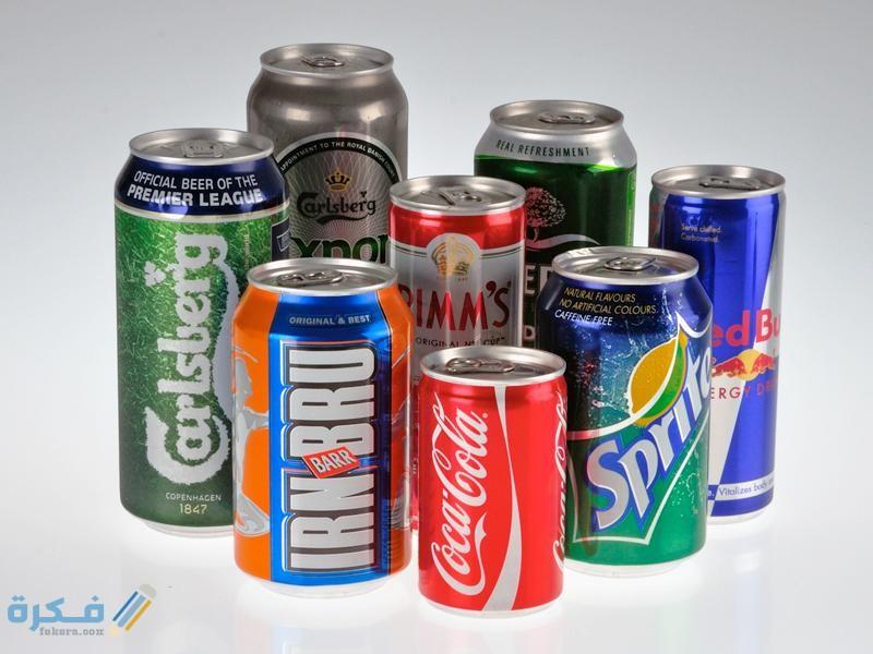 أي عناصر المجموعة 13 يدخل في صناعة على المشروبات الغازية