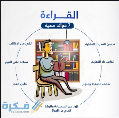 الفوائد الصحية والنفسية للقراءة على الانسان