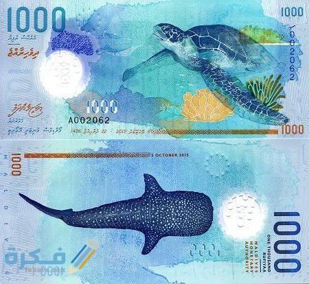 ما هو اسم عملة جزر المالديف وفئاتها بالصور تاريخ عملة جزر المالديف موقع فكرة