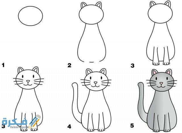 كيفية رسم حديقة حيوانات للاطفال