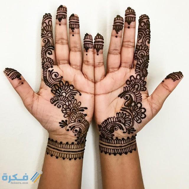 صور نقش حناء عماني للعرايس