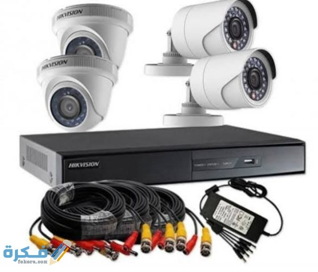 توصيلات كاميرات المراقبة وتركيبها