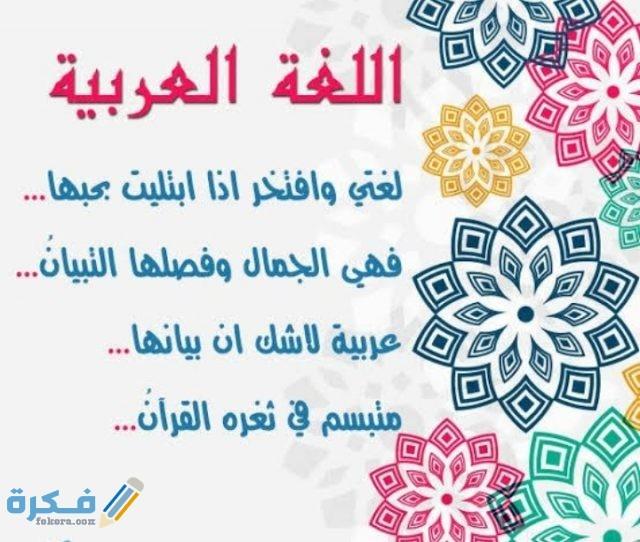 عبارات عن اللغة العربية 3