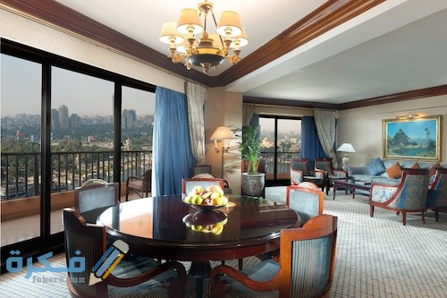 الغرف في فندق سميراميس
