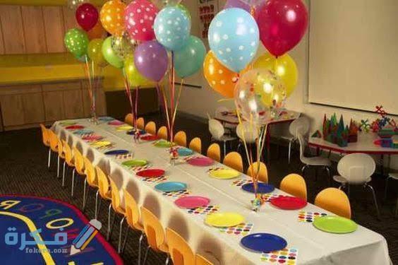 أفكار مختلفة لتزيين طاولة عيد ميلاد طفلك