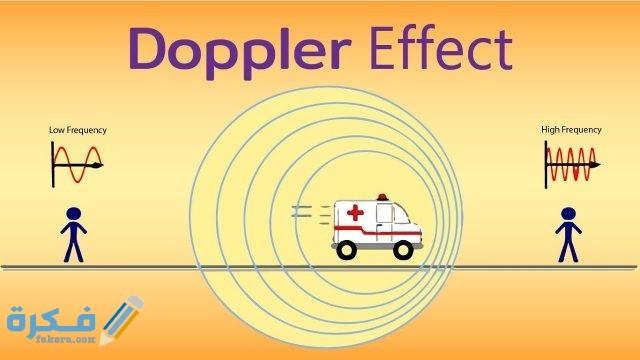شرح ظاهرة دوبلر للصوت