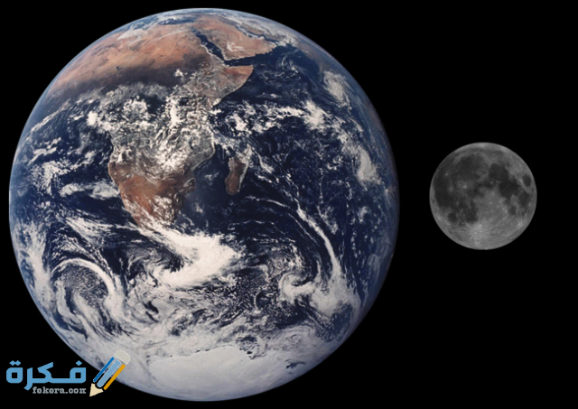 هل القمر كوكب ام نجم