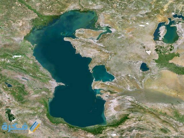 ماهو اسم أكبر بحيرة في كوكب الأرض