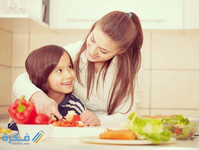 جدول التغذية للطفل في عمر السنتين