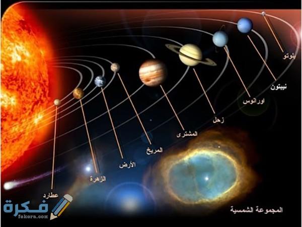تكون قوة الجاذبية الشمسية أكبر عند