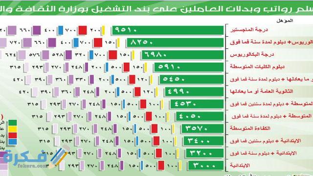 الفرق بين بند الأجور والمستخدمين في السعودية