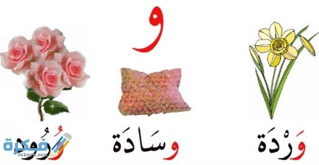 اسم جماد بحرف الواو و موقع فكرة